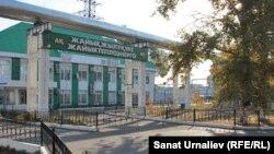 Здание коммунального предприятия АО «Жайыктеплоэнерго». Уральск, 19 июля 2017 года.