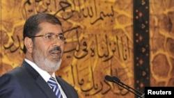 Presidenti i Egjiptit, Muhammad Morsi.