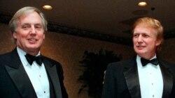 Дональд Трамп с братом Робертом (слева). Архивное фото.
