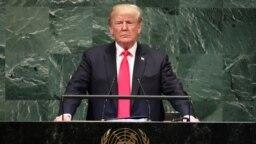 ترامپ میگوید کارزار «فشار اقتصادی» بر ایران را آغاز کرده تا مانع دستیابی ایران به پول برای پیشبرد «دستور کار خونین» خود شود.