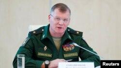 ایگور کُناشنکوف، سخنگوی وزارت دفاع روسیه