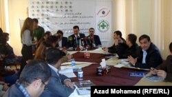 السليمانية:مؤتمر صحفي لمركز مترو للدفاع عن حقوق الصحفيين