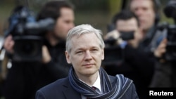Julian Assange is fighting extradition to Sweden