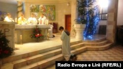 Прослава на Божиќ во Приштина
