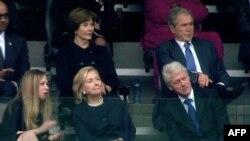 خانم بوش: دلیلی برای امیدواری در افغانستان وجود دارد.