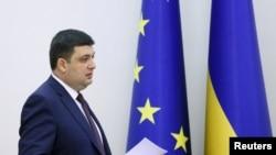 Ukrain parlamenti geçen hepde Wolodimir Hroýsmany premýer-ministrlige tassyklady.