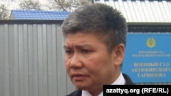 Судья Агизбек Тулегенов. Актобе, 1 ноября 2011 года.