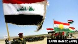 پیشمرگههای کرد و نیروهای دولت مرکزی عراق دوشادوش یکدیگر علیه گروه «خلافت اسلامی» جنگیدهاند