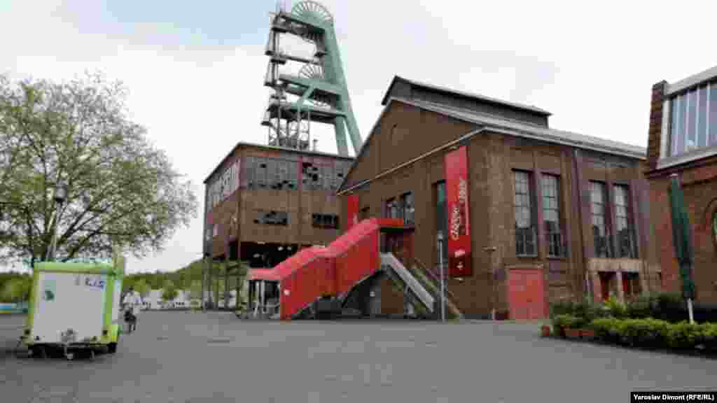 A cabaret at the former coal mine in Herten