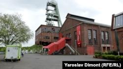 Вид на бывшую шахту в Хертене, Германия.