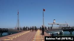 Bandırma, vaporul cu care Ataturk a venit la Samsun