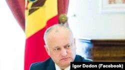 Președintele Igor Dodon, 11 mai 2020.