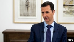 Criticism of U.S.-led interventions in Syria by President Bashar al-Assad is nothing new. (file photo)