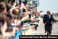Владимир Зеленский перед церемонией инаугурации 20 мая 2019 года, Киев