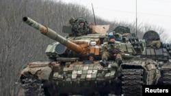 Військова техніка сепаратистів, архівне фото