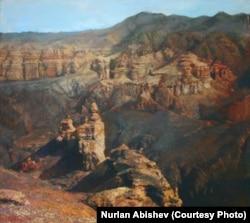 Чарынский каньон глазами Нурлана Абишева.