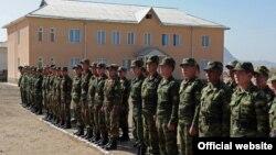 Пограничный отряд в Баткене