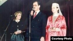 На фото: один из основателей организации «Алан-Вакф» Зале Пухаты (слева) и глава осетинской диаспоры в Турции Садретдин Кусаты