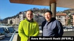 Zenadin Mešukić i Faris Prevljak