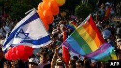 Участники гей-парада в Иерусалиме