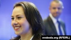 Дэпутатка Палаты прадстаўнікоў Ганна Канапацкая, сябра апазыцыйнай Аб'яднанай грамадзянскай партыі