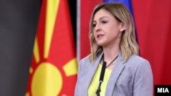 Архивска фотографија- министерката за финансии Нина Ангеловска