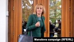 Maya Manolova, candidata independentă la primăria capitalei, Sofia.