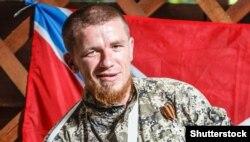 Громадянин Росії Арсен Павлов, бойовик угруповання «ДНР», відомий на прізвисько «Моторола». Окупований Донецьк, 11 липня 2014 року