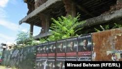 Plakati za koncert Marka Perkovića Thompsona u Mostaru