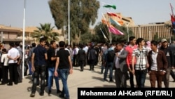 طلاب في جامعة الموصل