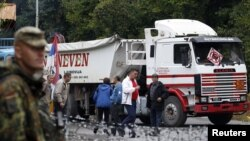 Kamion na prelazu Brnjak, 20. septembar 2011
