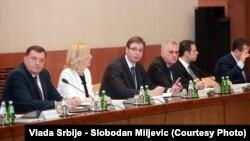 Zajednička sednica vlada RS i Srbije, Beograd, juni 2015.
