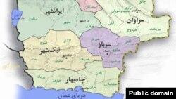 نیکشهر در ۵۱۰ کیلومتری جنوب زاهدان مرکز استان سیستان و بلوچستان واقع شده است.