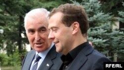 В Москве принимали не Леонида Тибилова, а делегацию Южной Осетии во главе с президентом республики