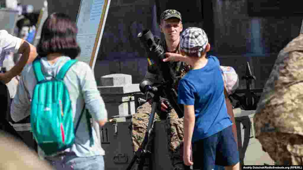 Новітні міномети, щостоять на озброєнні ЗСУ