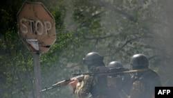 Ситуация в Славянске, 24 апреля 2014