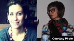 Сања Врбек и Ана Василева, активистки за женски права од Бори се женски.