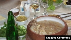 "The traditional khash soup is another dish whose ""nationality"" is disputed."