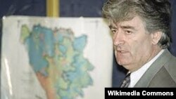 Ish-lideri i serbëve të Bosnjës, Radovan Karaxhiq