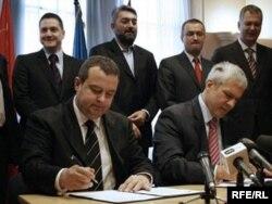 Pojedini analitičari su nekadašnje zalaganje Borisa Tadića videli kao deo dogovora između njega i Dačića o formiranju vlade Srbije