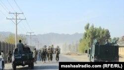 د پي آر ټي پر دفتر تر برید وروسته افغان امنیتي ځواکونو سمدستي سیمې ته ځان ورساوه.