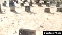 Do these stones, in Tehran's Behesht Zahra cemetery, mark the graves of dozens of victims of Iran's postelection violence?