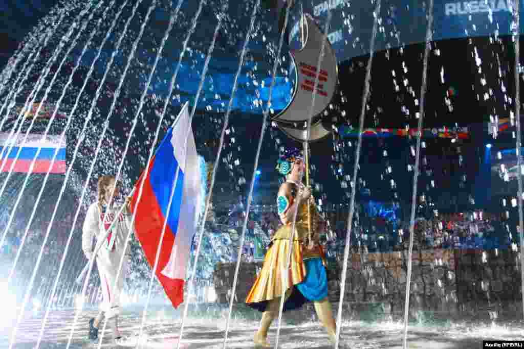 Русия байрагы