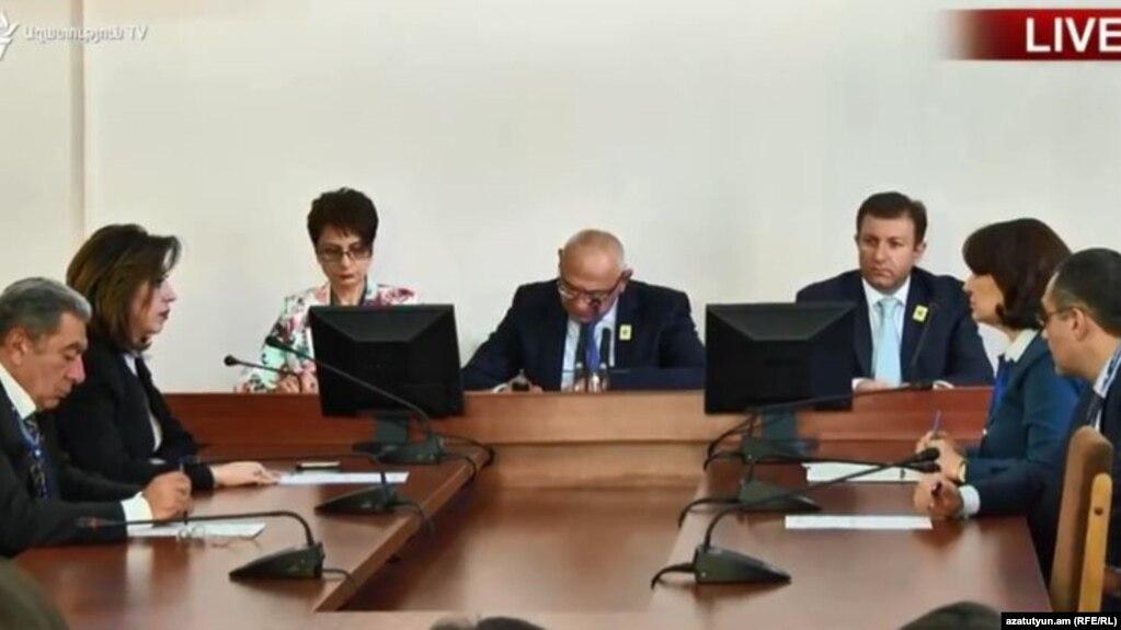 ЦИК Армении определил порядок предоставления эфирного времени в ходе предвыборной кампании