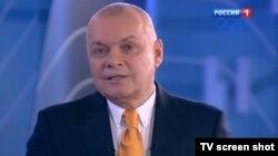 Դմիտրի Կիսելյովը վարում է «Вести недели» հաղորդումը, արխիվ