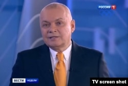 Телеведущий Дмитрий Киселев.