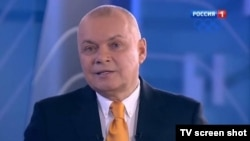 Russia -- TV anchor Dmitry Kiselyov