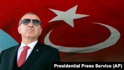 Turkish President Recep Tayyip Erdogan (pictured) and U.S. President Donald Trump have called for a full explanation of the killing of a Saudi journalist in Istanbul.