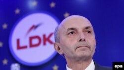Kryetari i LDK-së, Isa Mustafa.