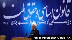 Прэзыдэнт Ірану Хасан Рухані